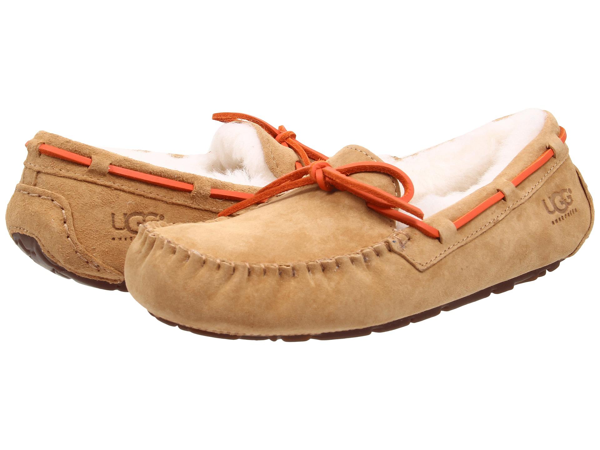 Womens Slippers UGG Dakota Tawny Water Resistant Suede