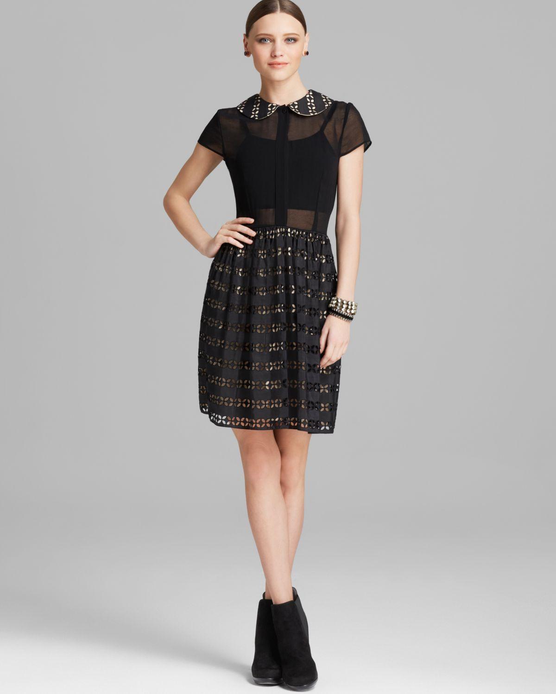 Alice And Olivia Black Dress