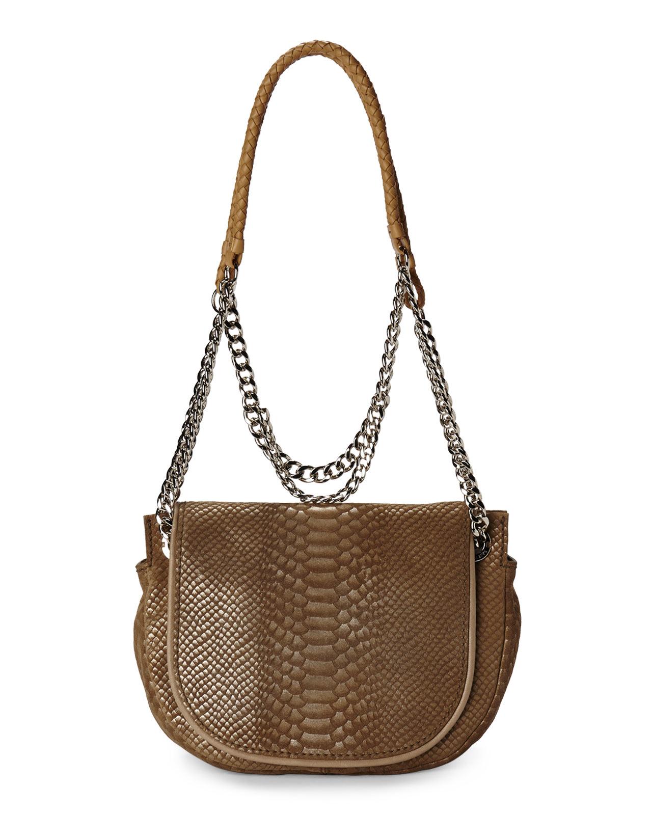 Lyst Ramy Brook Camel Shoulder Bag In Brown