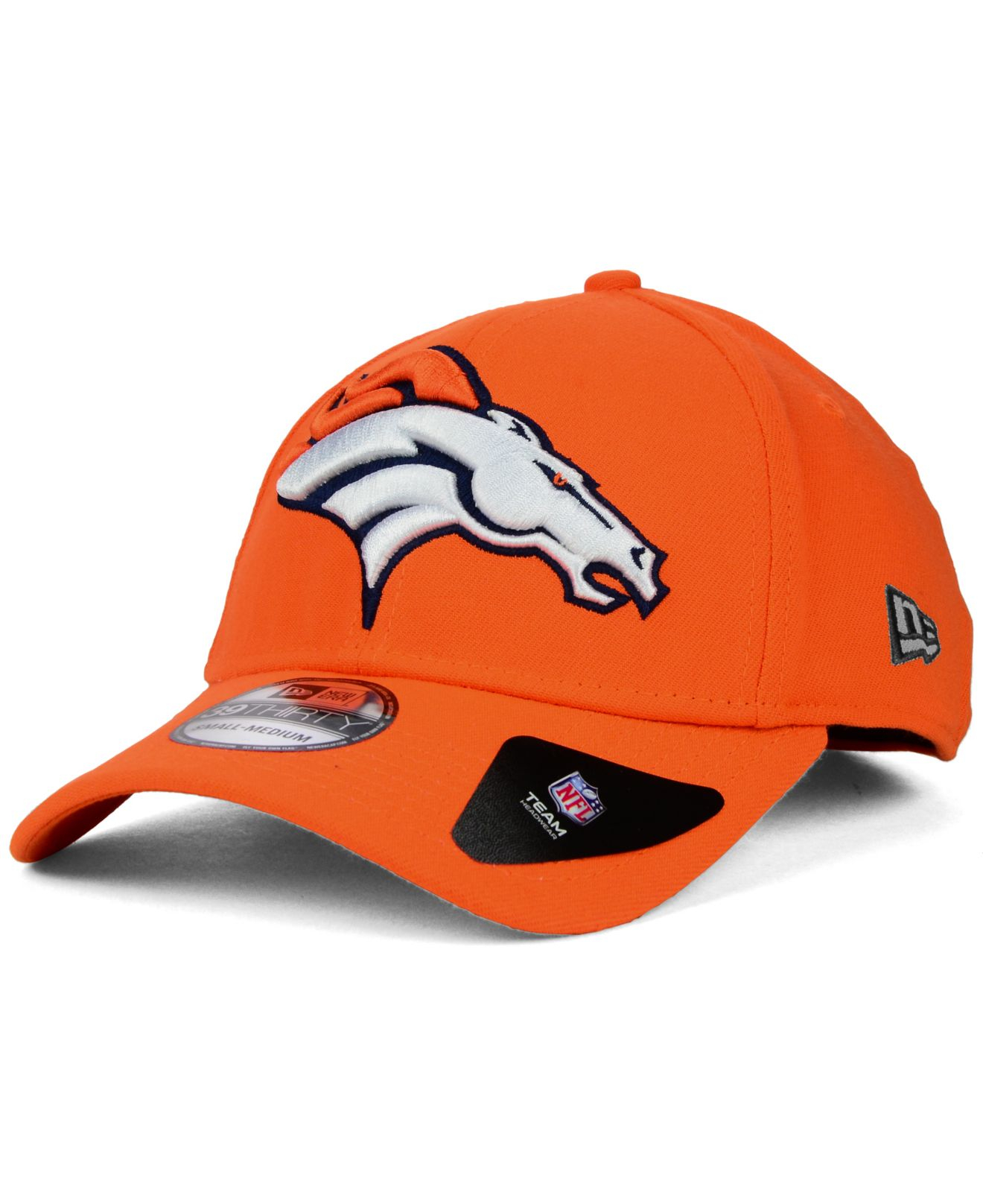 7ce2e984864bc3 ... fitted hats denvernew era hat a24e3 0a308; get lyst ktz denver broncos  mighty classic 39thirty cap in orange 99d03 9fc01