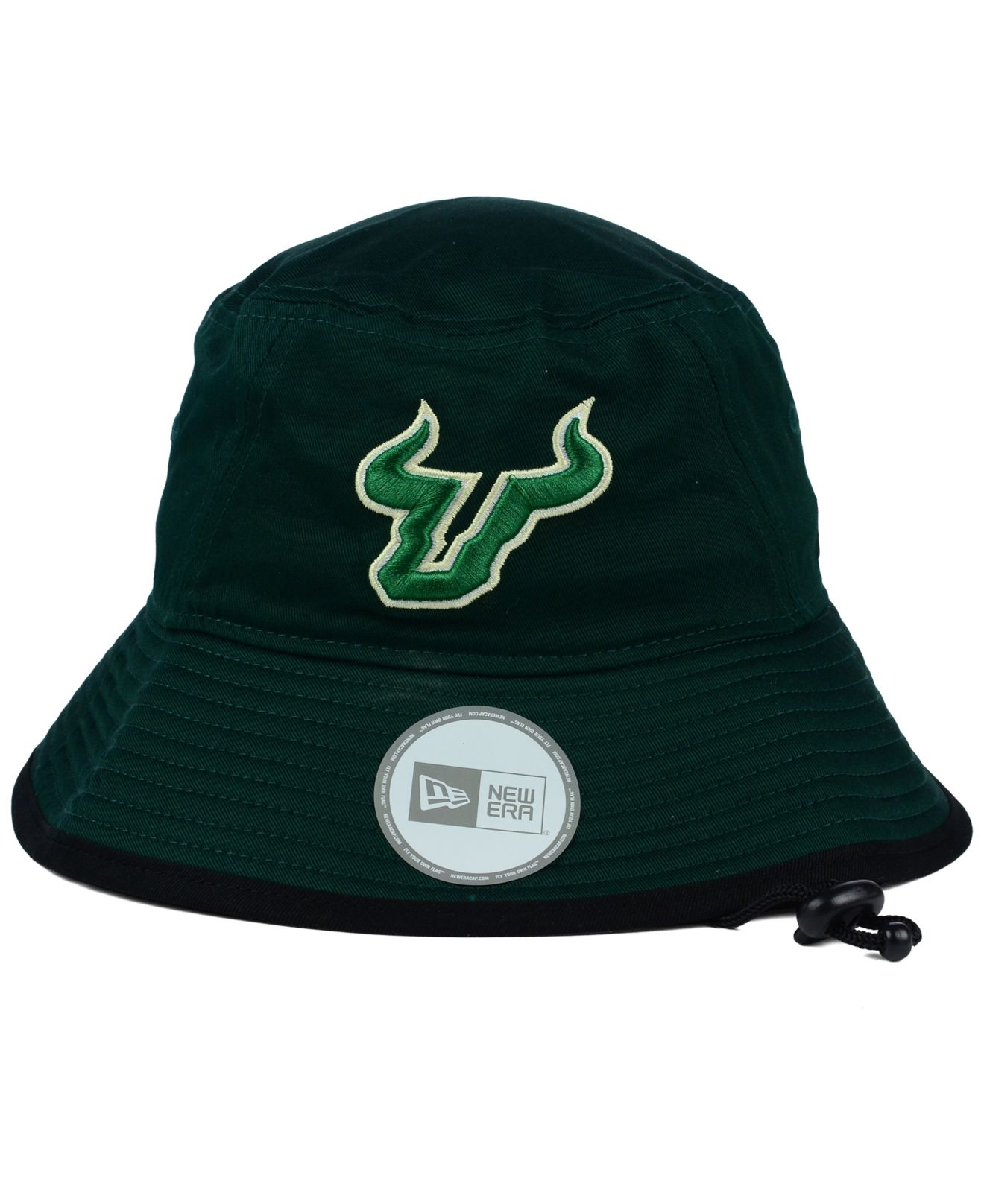 the latest 60393 be110 ... canada lyst ktz south florida bulls tip bucket hat in green for men  dc4a9 39edd