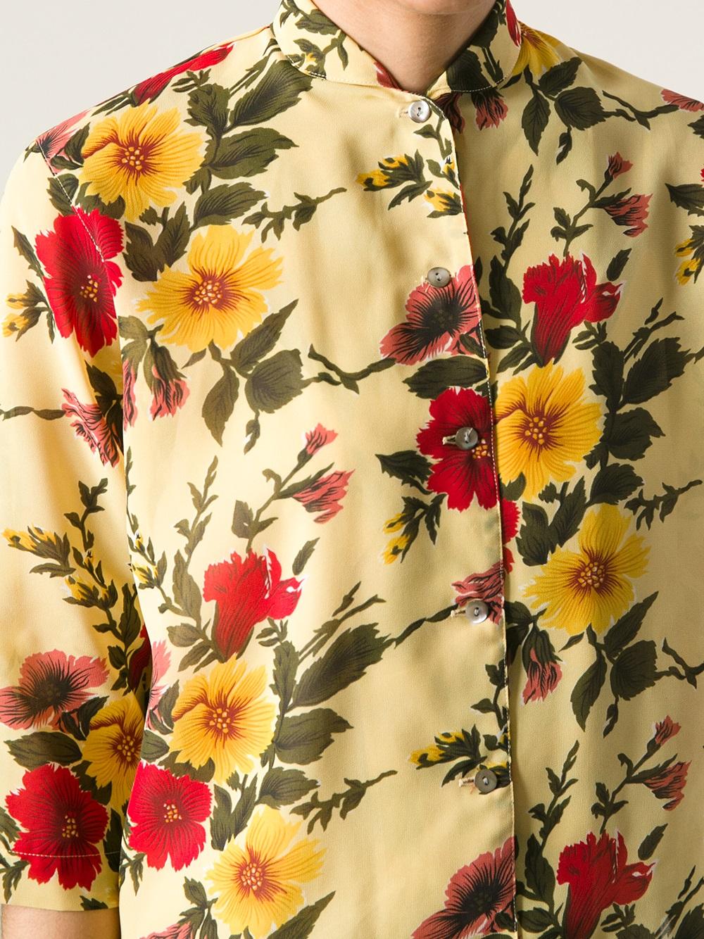 f4e432aafeb Lyst - Jean Paul Gaultier Printed Kimono Top And Matching Wrap Skirt ...