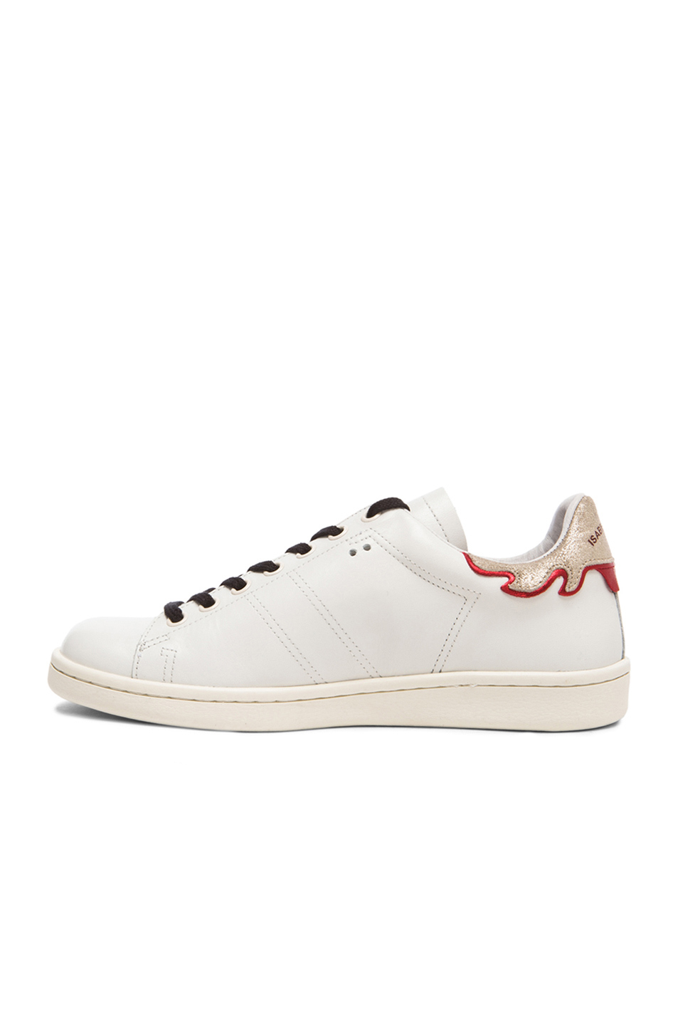isabel marant bart sneaker in white lyst. Black Bedroom Furniture Sets. Home Design Ideas