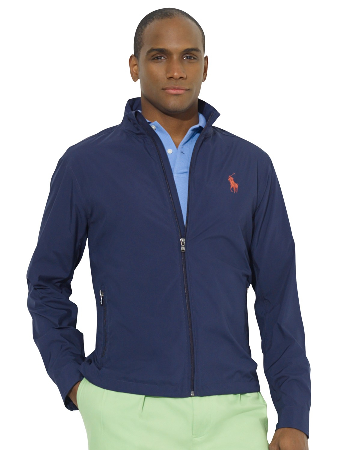Barbour Sapper Jacket >> Polo Ralph Lauren Blouson Windbreaker Jacket in Blue for Men - Lyst