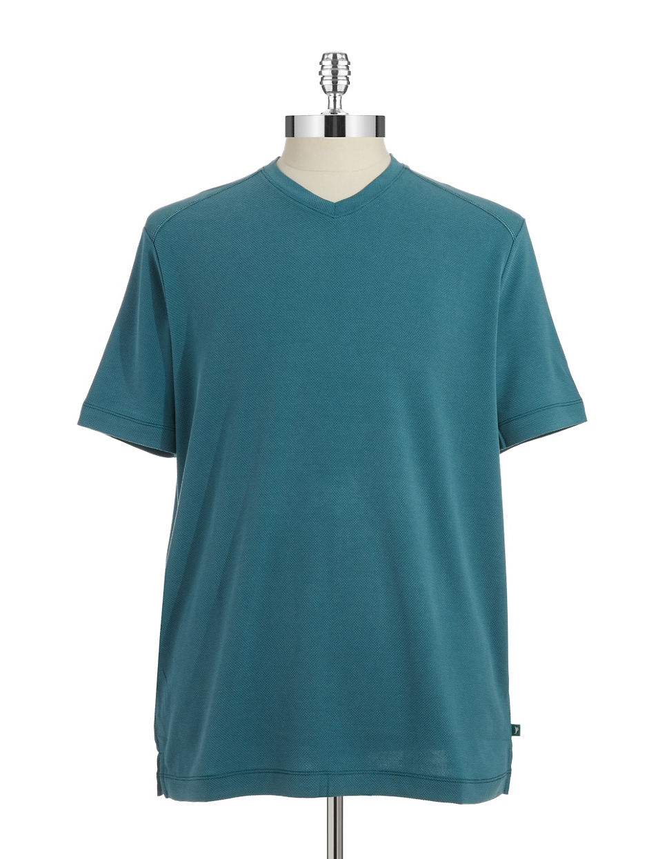 Tommy Bahama Textured V Neck T Shirt In Green For Men Lyst