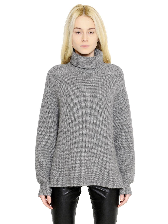 Étoile isabel marant Oversized Wool Blend Turtleneck Sweater in ...