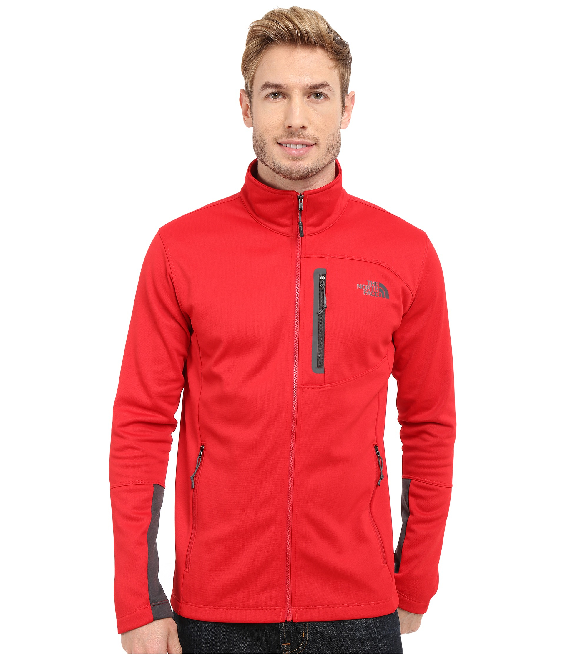 cd9e737b1 Men's Red Canyonlands Full Zip Sweatshirt
