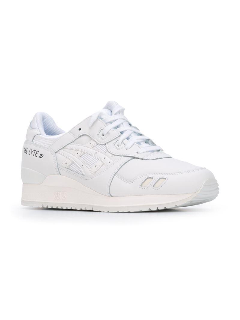 Asics Gel Lytes 3 Sneakers In White For Men Lyst