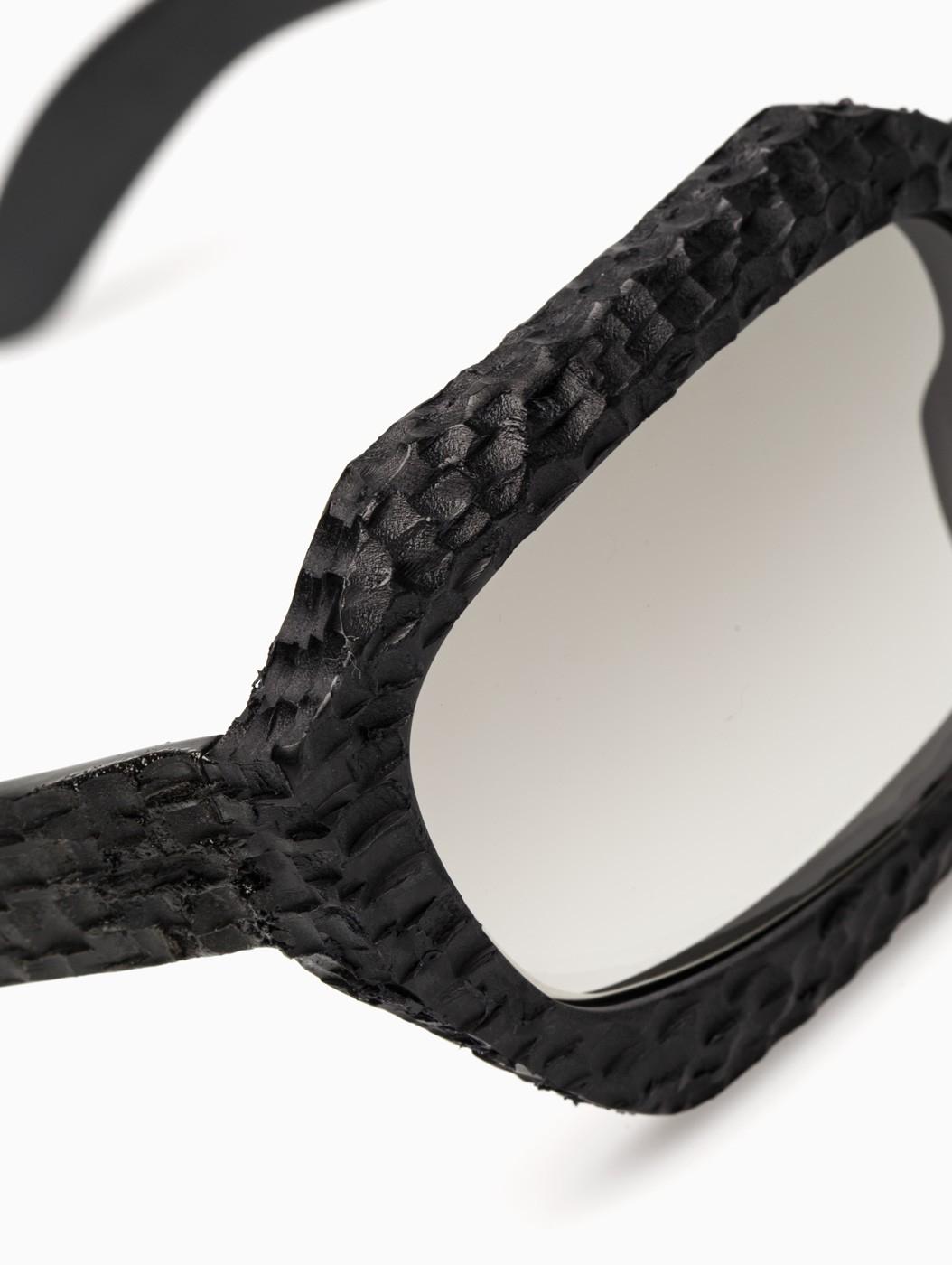 Kuboraum X2 Wt Sunglasses in Black for Men