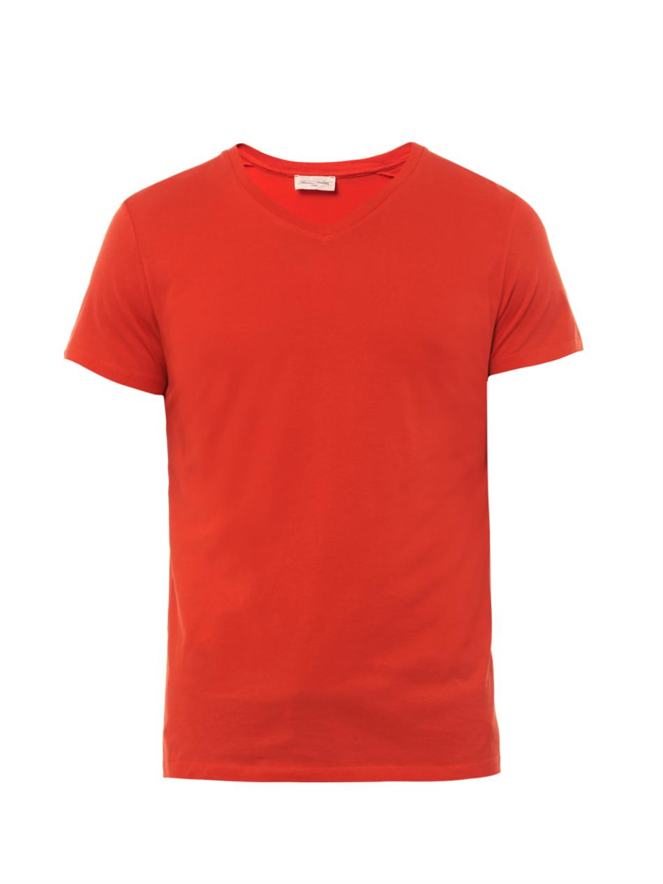 Red Polo Shirt For Women