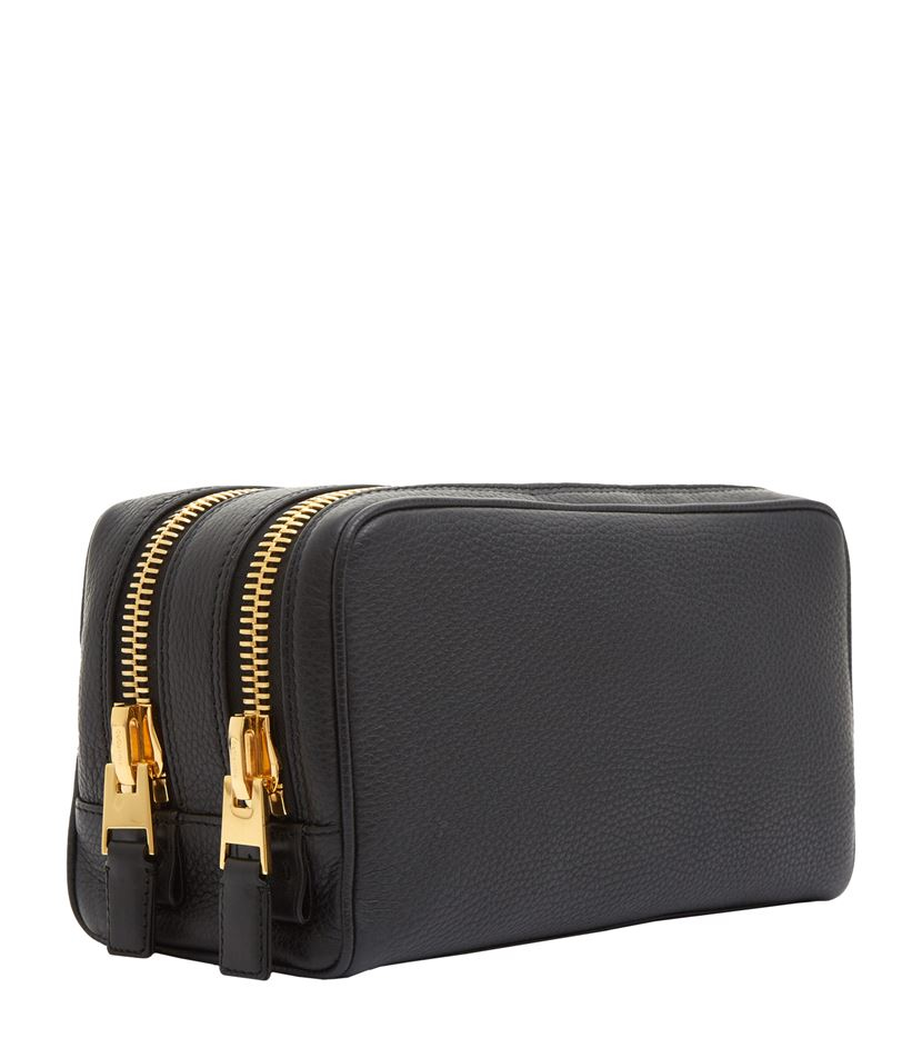d5203d6f0499 Tom Ford Double Zip Wash Bag in Blue for Men - Lyst