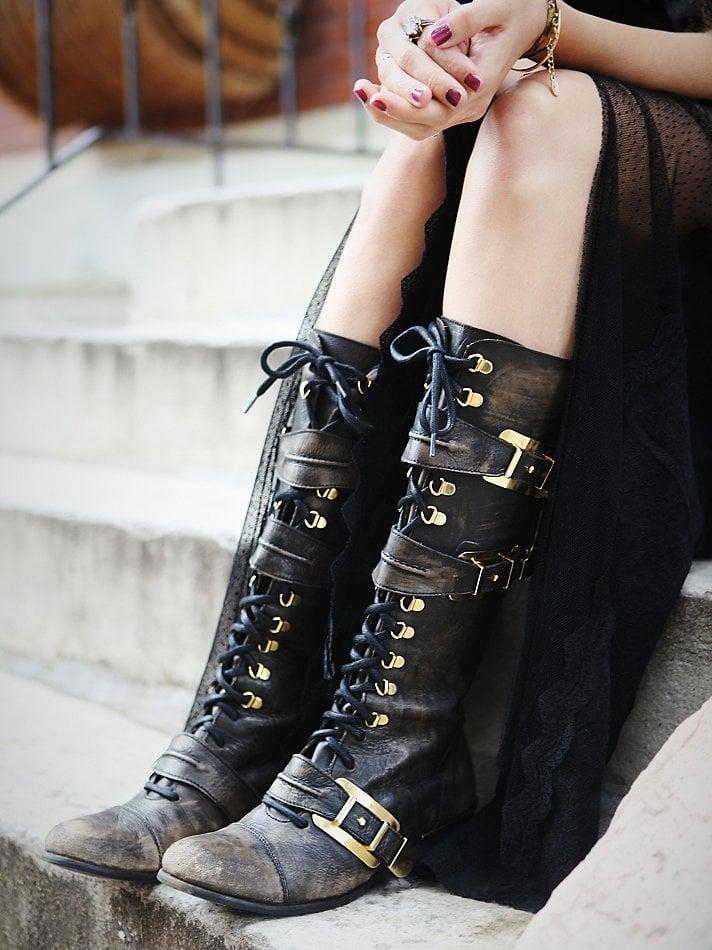 Thigh high boots chelsea zinn - 1 4