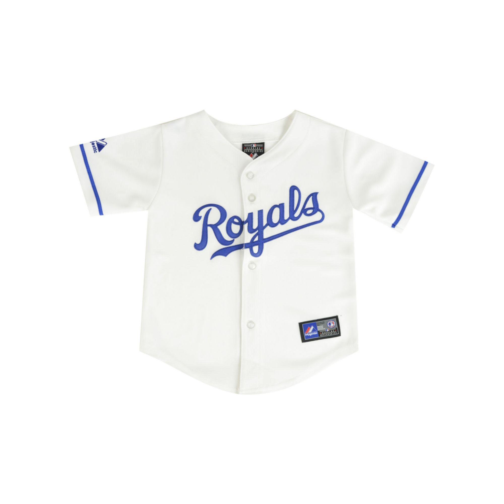 big sale b8ecf 7055d Lyst - Majestic Toddler Boys Kansas City Royals Blank ...