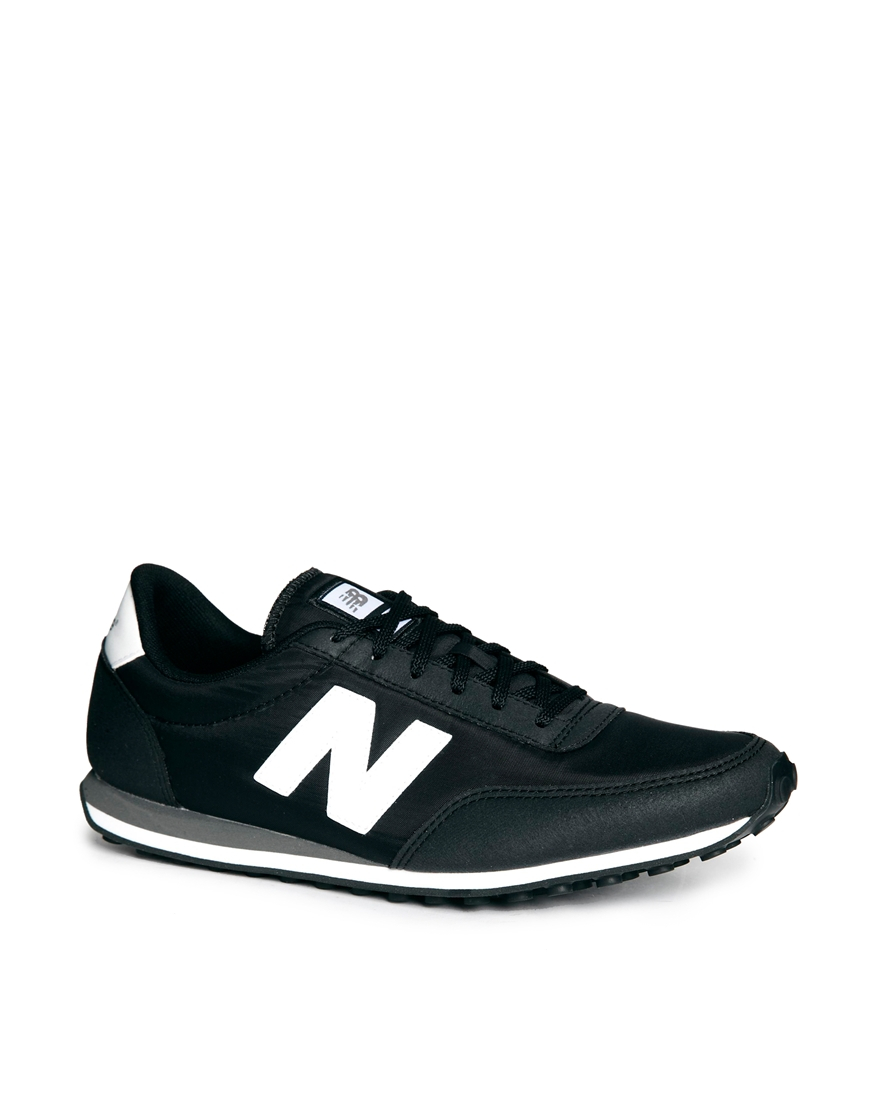 New Balance 410 Trainers in Black for Men - Lyst