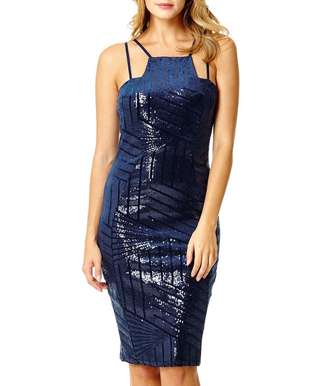 Velvet Sequin Dress