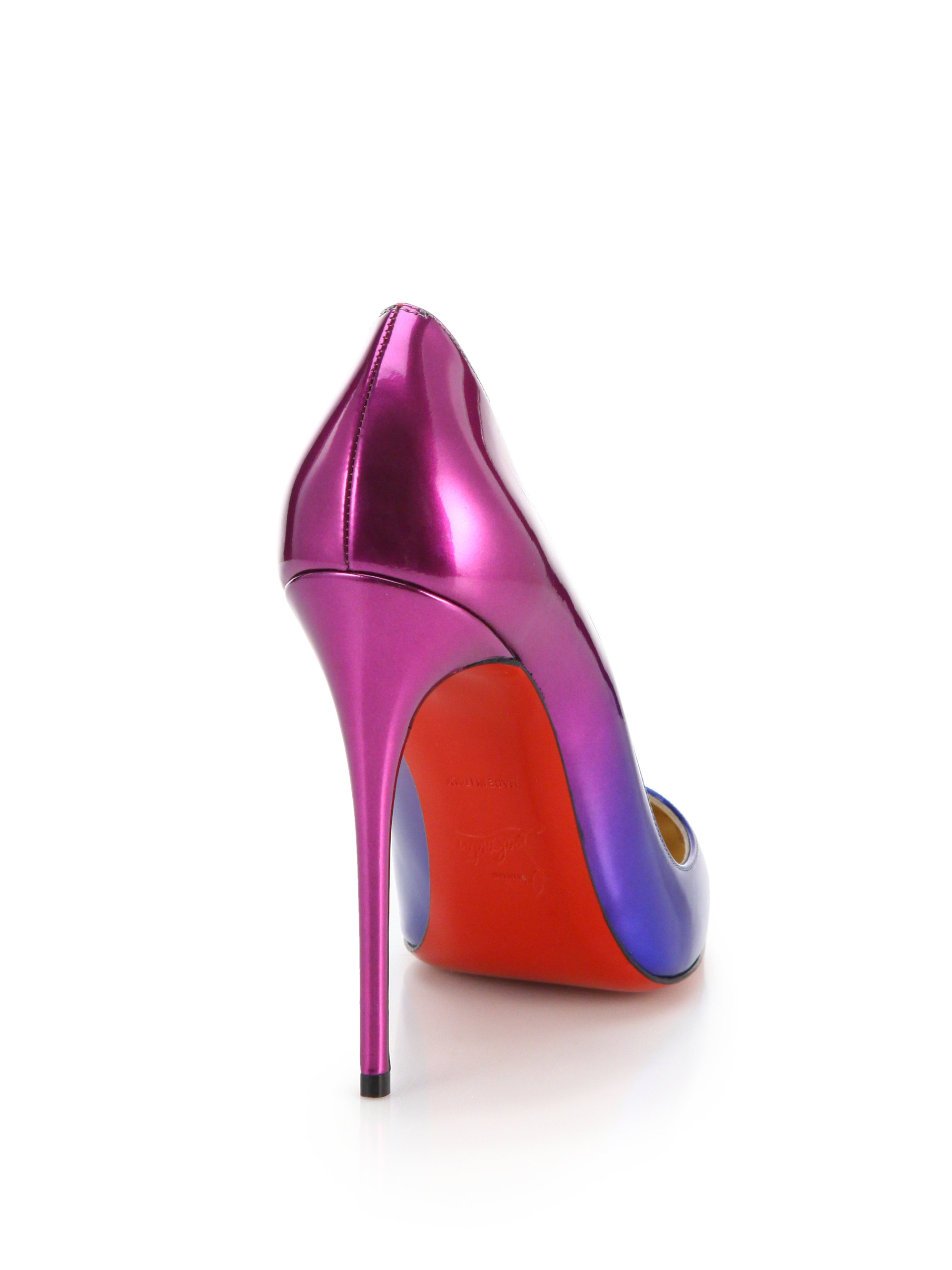 8ee9b00b59f Christian Louboutin Multicolor So Kate Ombré Patent Leather Pumps