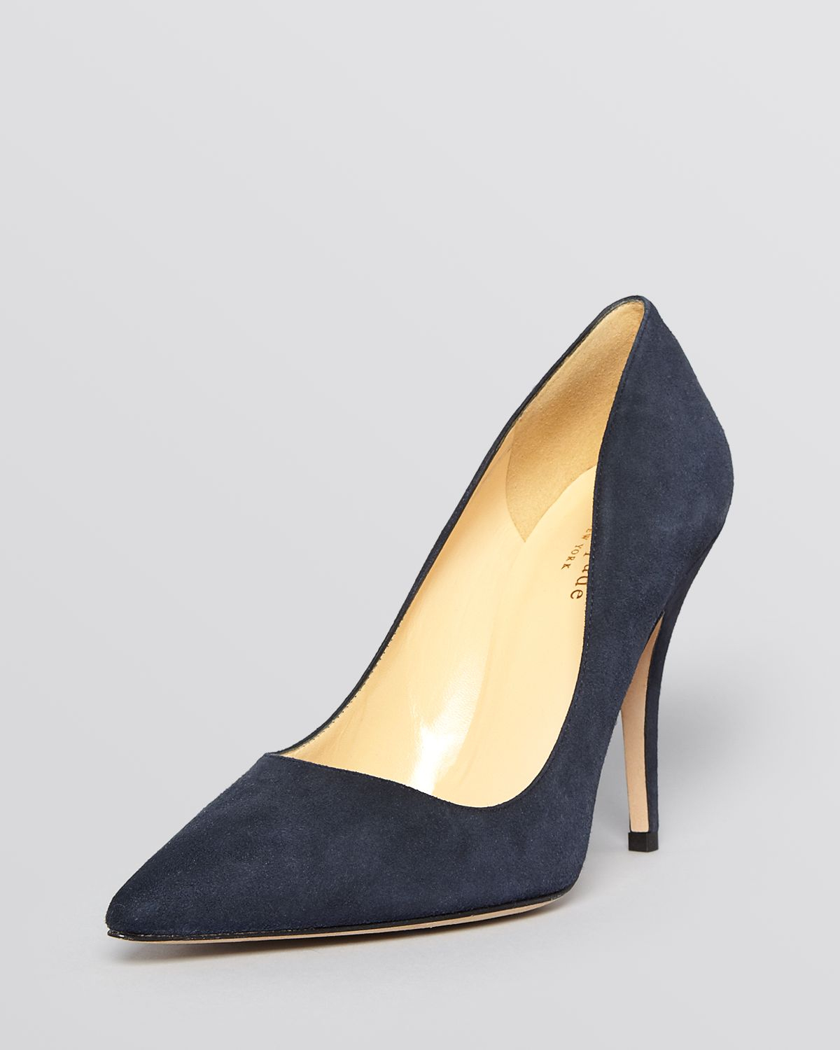 Kate spade new york Pointed Toe Pumps - Licorice High Heel in Blue ...