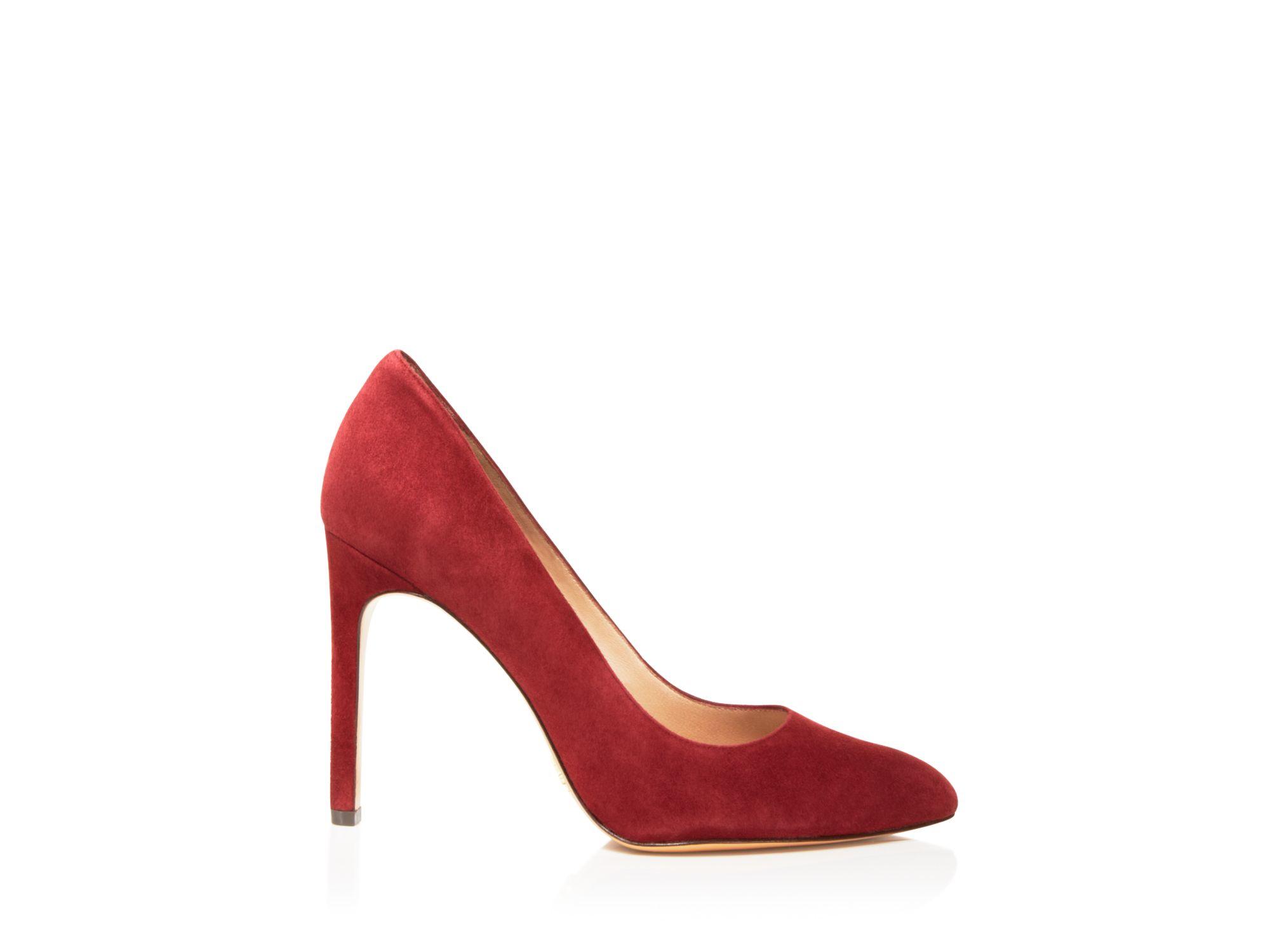 9a364478b0f9b Pour La Victoire Red Pumps - Zoie Pointed Toe
