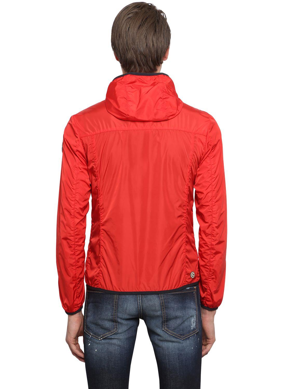 Red Nylon Windbreaker 28