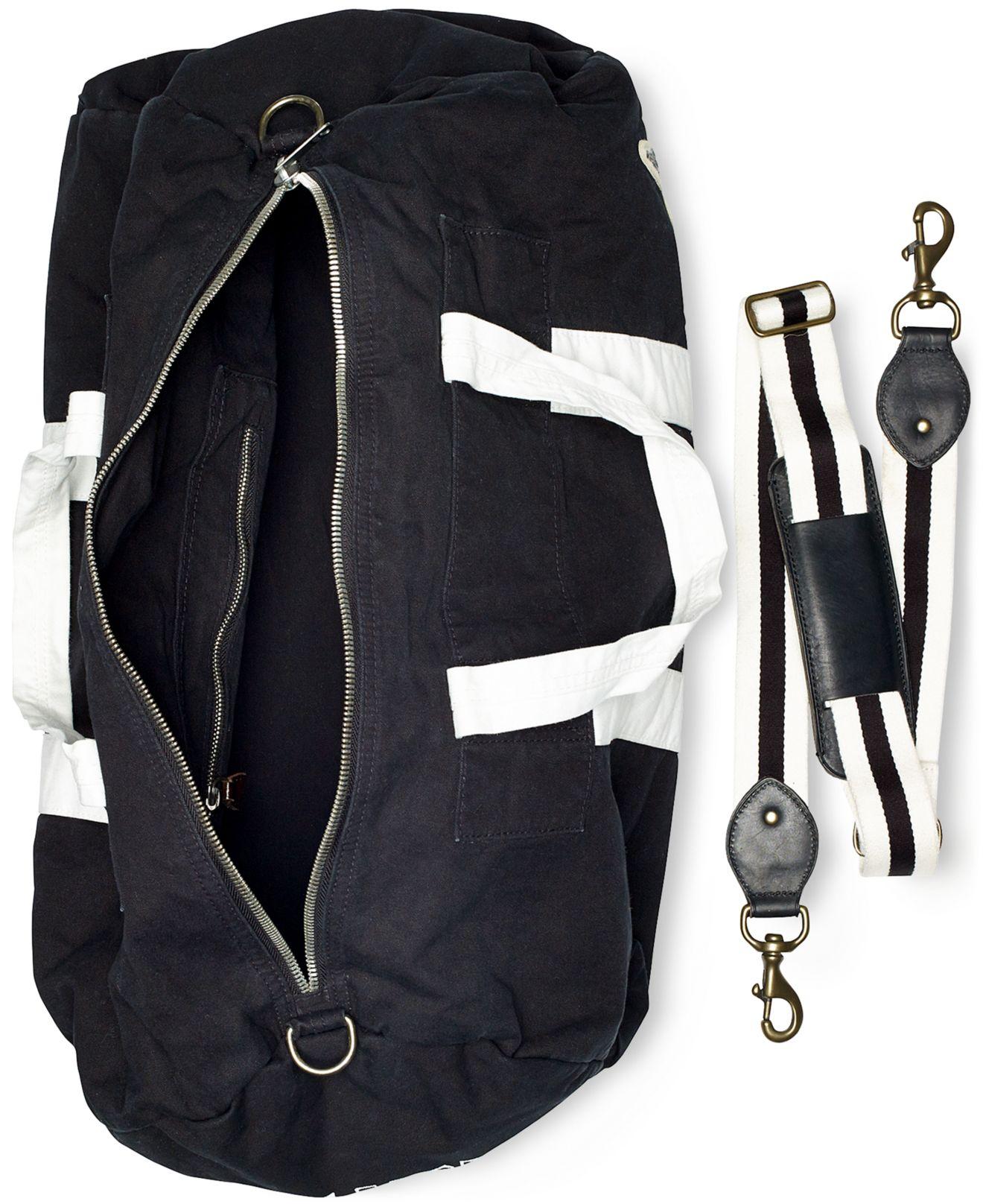 Lyst - Polo Ralph Lauren Canvas Boxing Duffel Bag in Black for Men d1223c266e90a