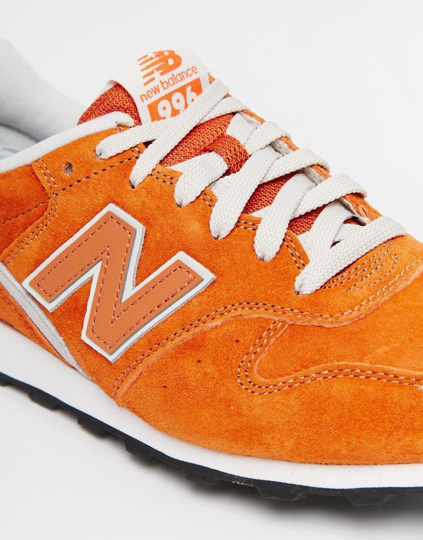 free shipping bfea2 30b5f canada gold orange mens new balance 996 shoes af581 038ec