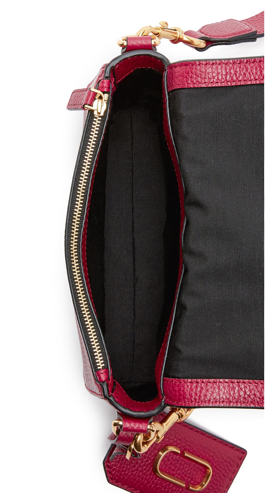 Marc Jacobs Leather Gotham City Cross Body Bag