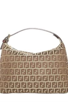 Fendi Zucchino Logo Jacquard Make-up Bag - Lyst