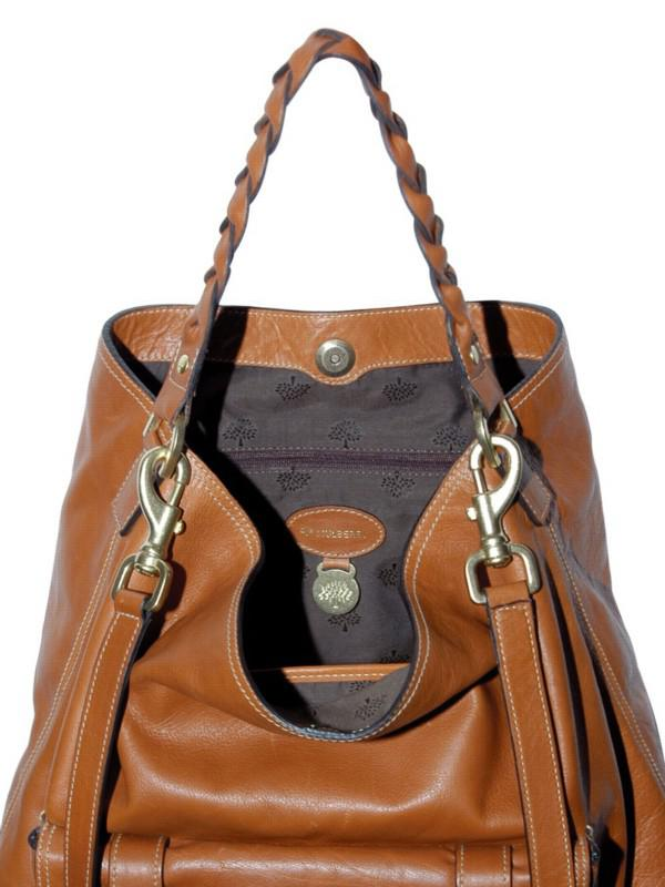 Lyst Mulberry Alexa Hobo Bag In Brown
