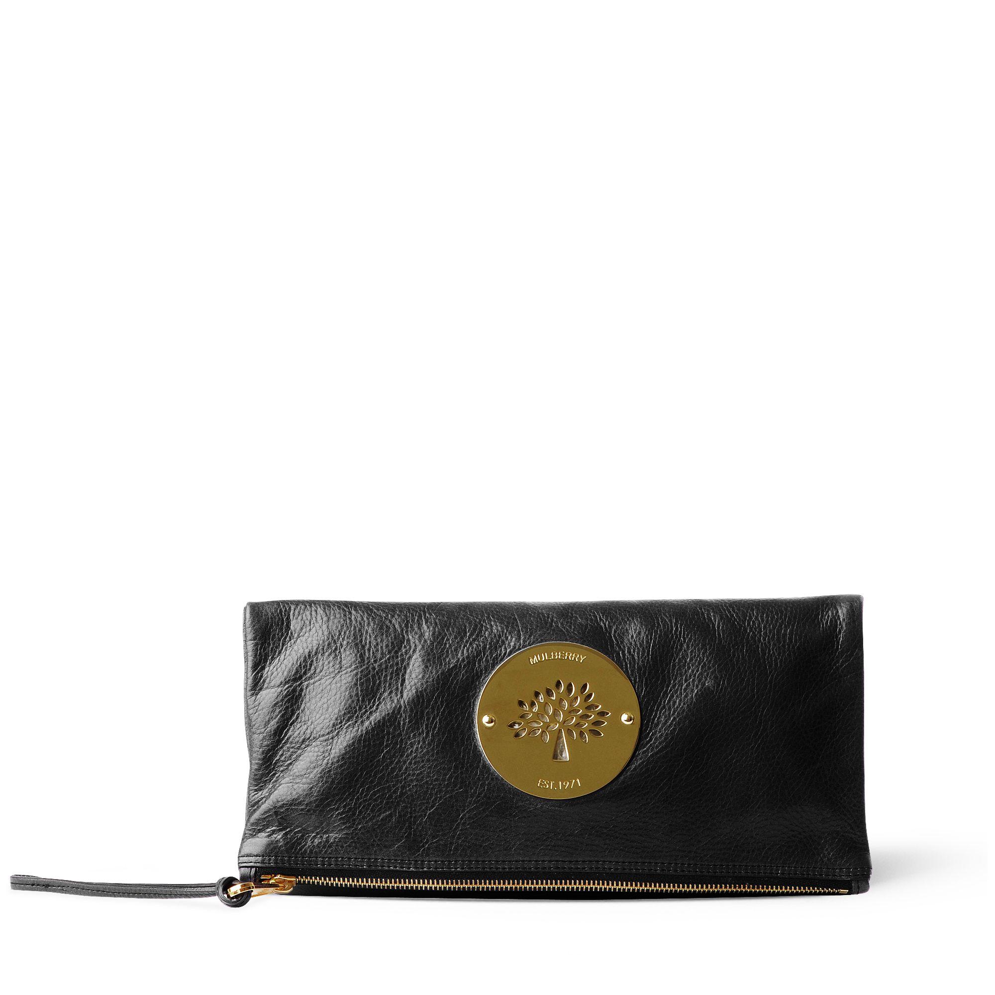 40d2febe1ab1 ... amazon mulberry daria clutch bag in black lyst 90fd9 1c690