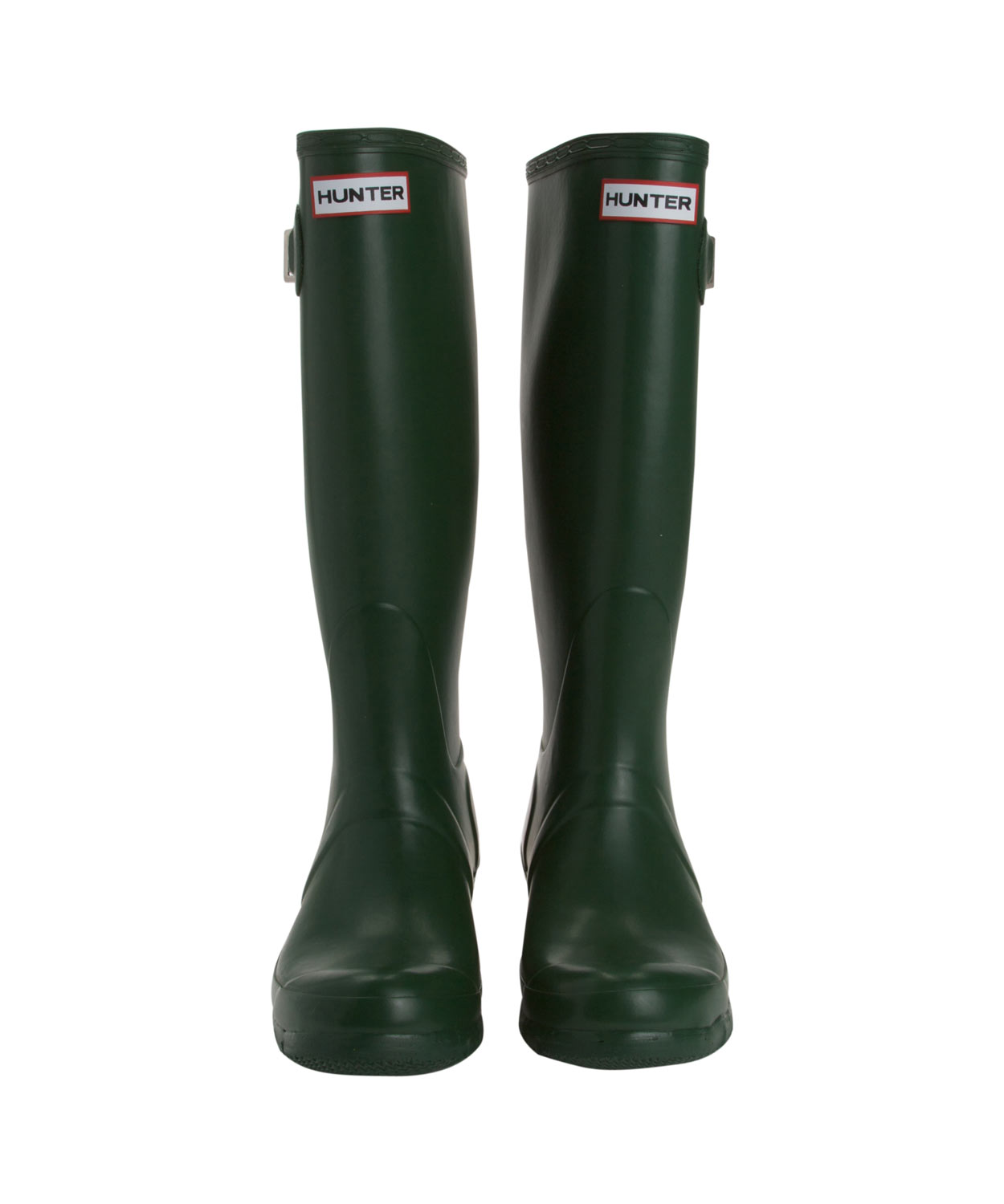 HUNTER Tall Wellington Boots in Green