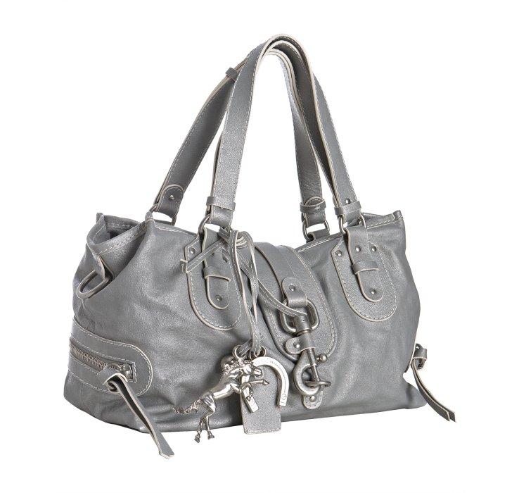 chloe handbags - Chlo�� Silver Metalized Calfskin Kerala Shoulder Bag in Silver | Lyst