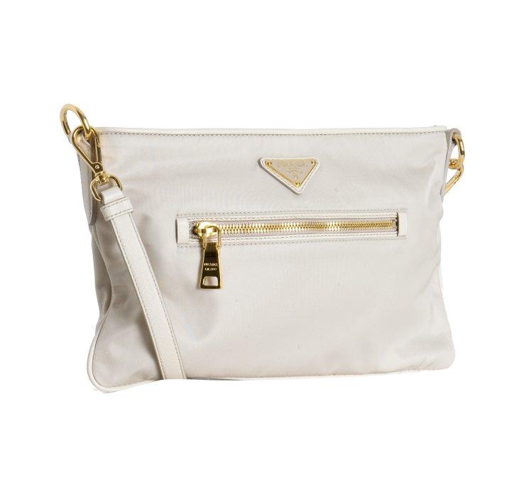 c053a0a9d1d0 Prada White Nylon Handbag