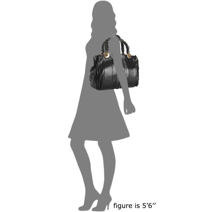 Chlo¨¦ Black Lambskin Leather Heloise Tote in Black | Lyst