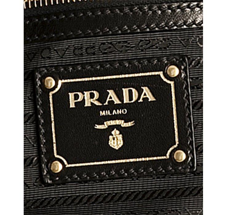 Prada Black Nylon Logo Jacquard Hobo Shoulder Bag in Black | Lyst