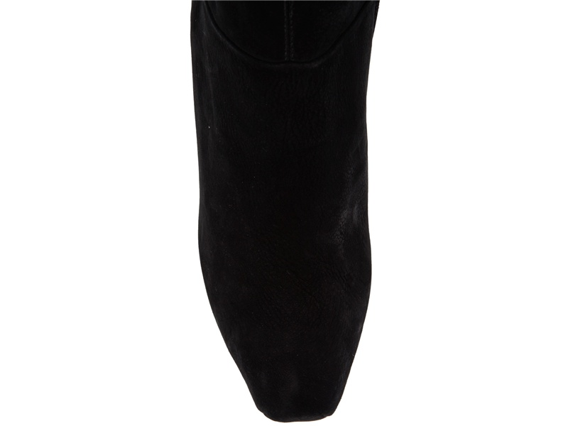 Finsk Suede Knee High Boot in Black