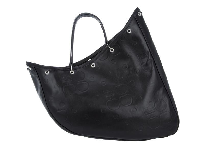Comme des Garçons Irregular Shaped Tote Bag in Black