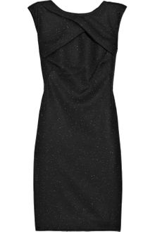 Helmut Lang Flecked Wool-blend Dress - Lyst