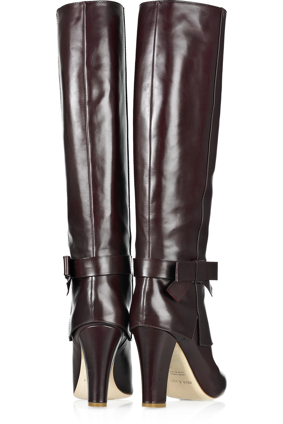 Paul & Joe Iris Knee-high Leather Boots in Brown
