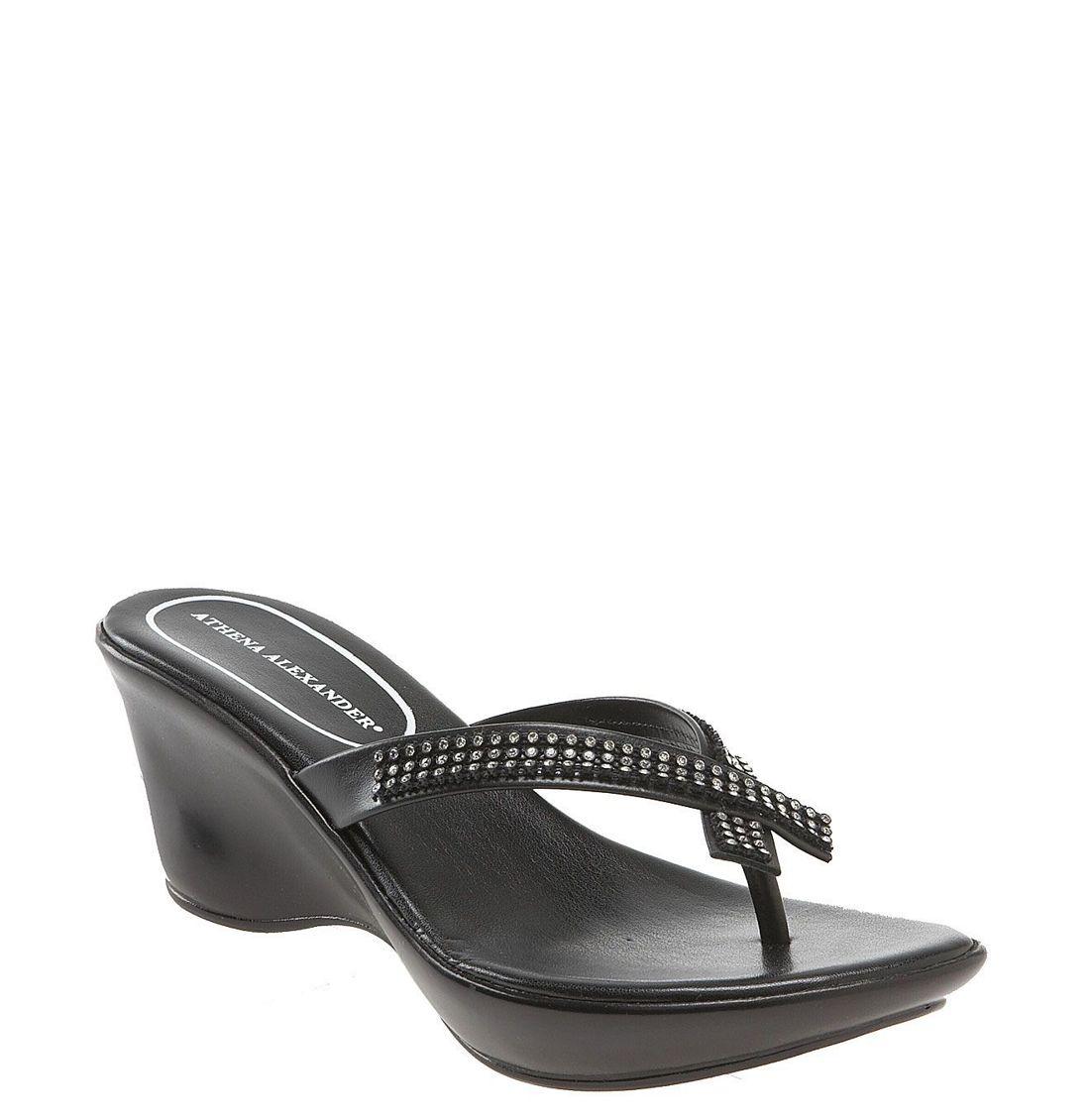 Athena Alexander Womens Roxi Sandal In Black Lyst
