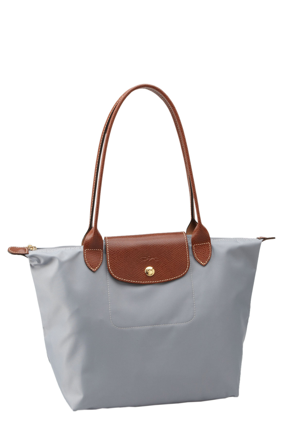 Longchamp Bag Le Pliage Colours : Longchamp le pliage tote bag in gray lyst