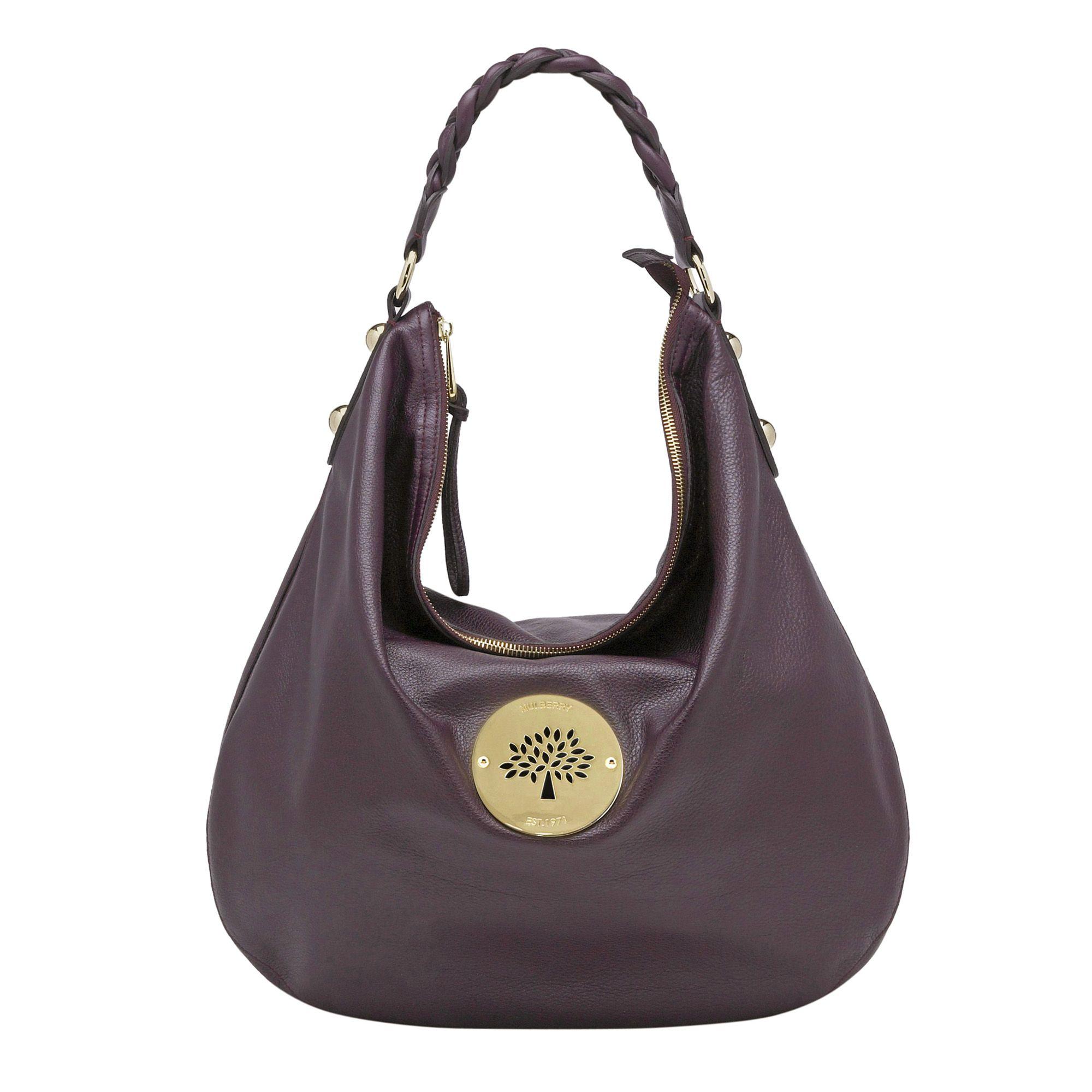 Purple Hobo Bag Bags More