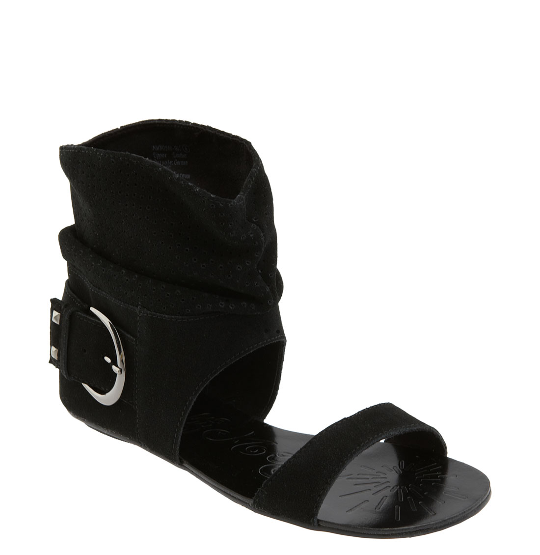 Naughty Monkey Ginger Roxs Sandal In Black Lyst