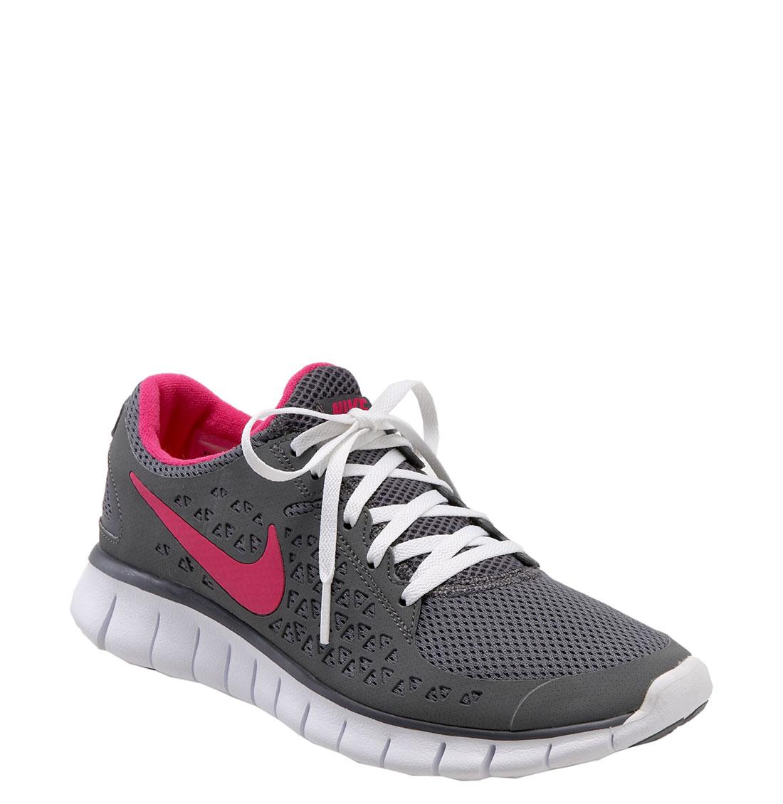 Cool  Womens Nike Roshe One Flyknit Running Shoes Light GreyNavy 677243006