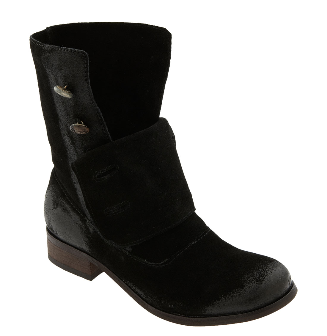 steven by steve madden adeson boot in black black