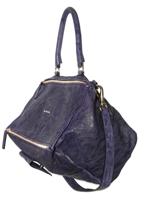 0cfbaef5b19 Givenchy Pandora Medium Shoulder Bag in Blue - Lyst
