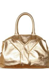 Yves Saint Laurent Metallic Easy Medium Top Handle