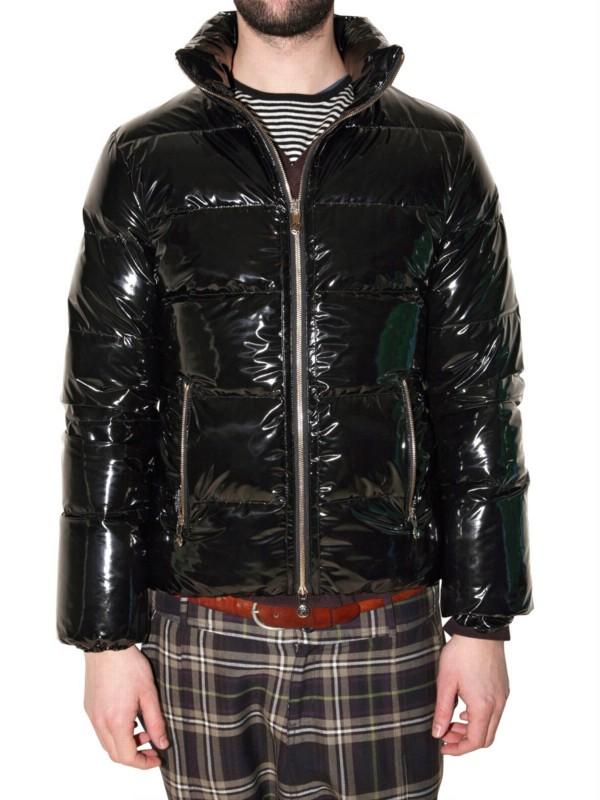Pyrenex Vinyl Duck Down Sport Jacket In Black For Men Lyst