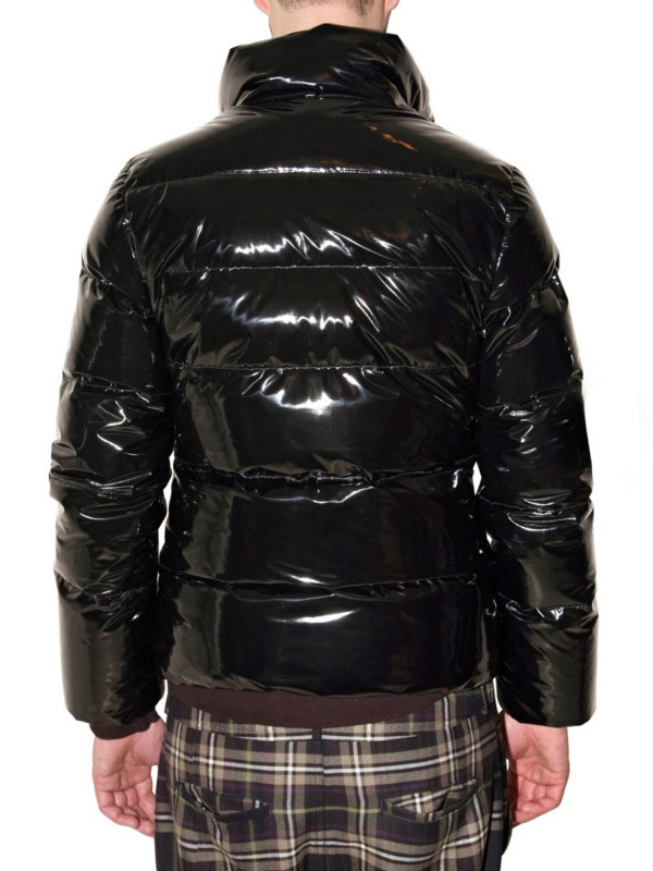 Pyrenex Vinyl Duck Down Sport Jacket In Black For Men Lyst