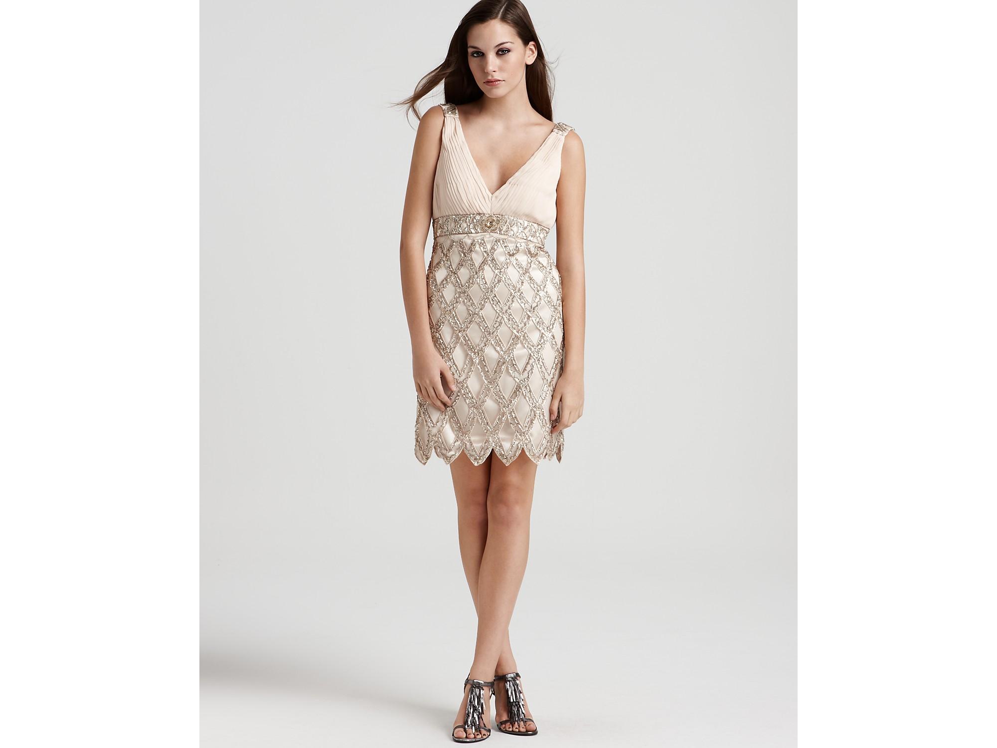 Details about Sue Wong Embellished Flapper Dress( Size 14)