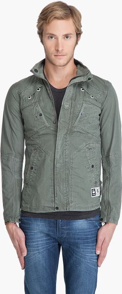 g star raw recolite jacket in green for men olive lyst. Black Bedroom Furniture Sets. Home Design Ideas